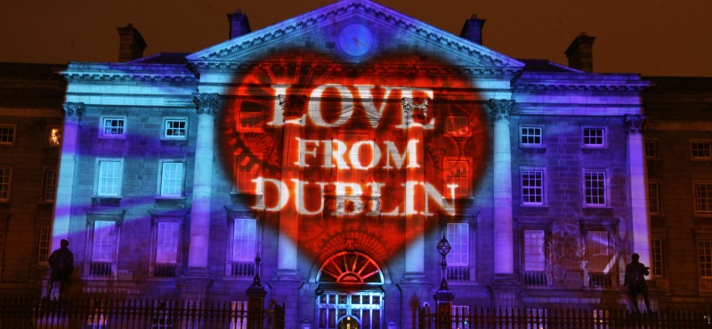 Año Nuevo en Dublín